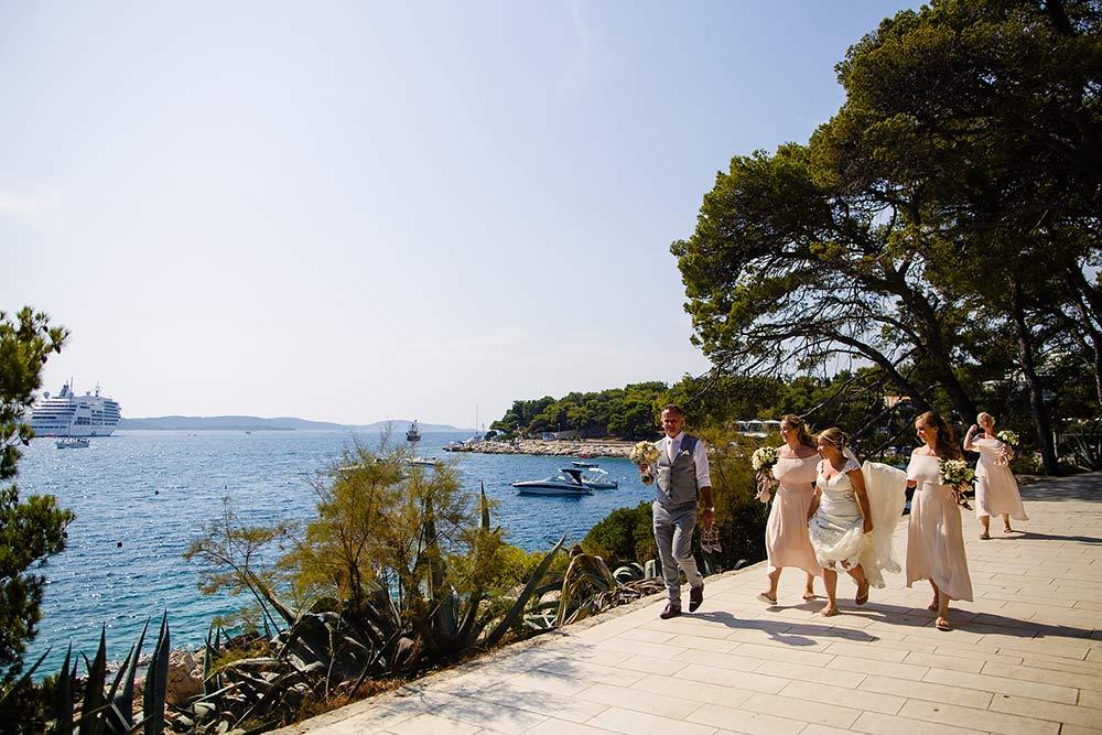 Bonj Les Bains wedding Hvar 34