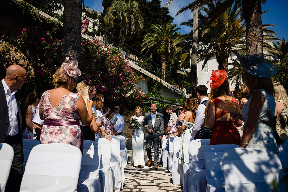 Hotel Excelsior wedding ceremony